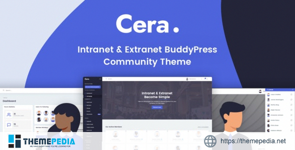 Cera – Intranet & Community Theme [Free download]