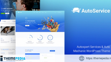 AutoService – A Car Repair Services & Auto Mechanics WordPress Theme [Free download]