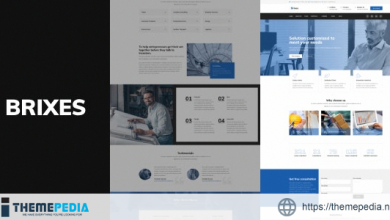 Brixes – Factory & Industry WordPress Theme [Free download]