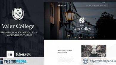 Valer – School & College WordPress Theme [Latest Version]