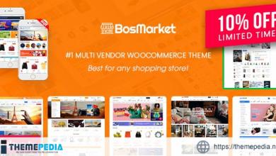 BosMarket – Flexible Multivendor Elementor WooCommerce WordPress Theme (12 Indexes + Mobile Layouts) [Updated Version]