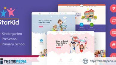 StarKid – Kindergarten WordPress Theme [Free download]