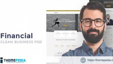 Financial – Startup Business WordPress Theme [Free download]