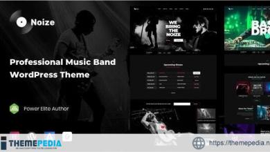 Noize – Music Industry WordPress [Updated Version]