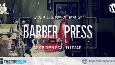 BarberPress – Salon WordPress Theme [Free download]