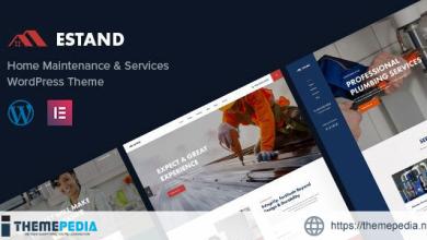 Estand – Home Maintenance WordPress Theme [Latest Version]