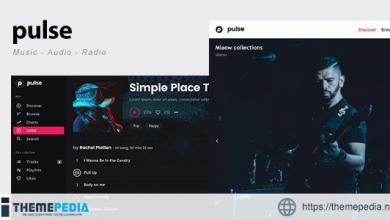 pulse – Music, Audio, Radio WordPress Theme [Updated Version]