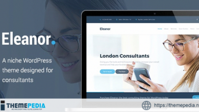 Eleanor – Consulting, Business WordPress Theme [Free download]