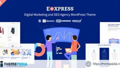 Eoxpress – Marketing Agency WordPress Theme [Free download]