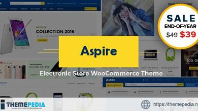 Aspire – Multipurpose Responsive WooCommerce WordPress Theme [Free download]