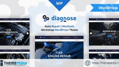 Diagnose – Auto Repair Services WordPress Theme [Free download]