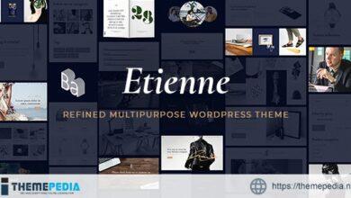 Etienne – Business WordPress Theme [Updated Version]