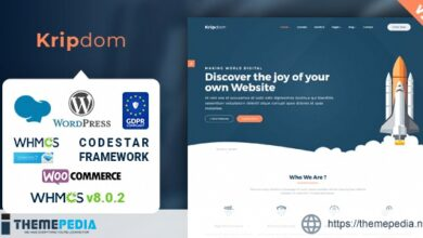 Kripdom – Responsive Web Hosting and WHMCS Themes [nulled]