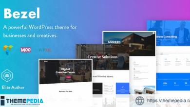 Bezel – Creative Multi-Purpose WordPress Theme [Updated Version]