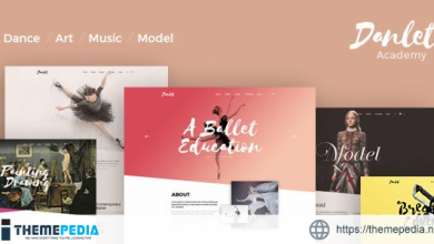 Danlet Academy WordPress Theme – Art Education [Free download]
