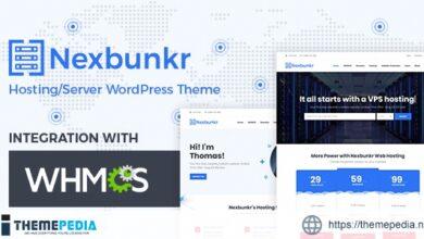 Nexbunker – Hosting-Server WordPress Theme + WHMCS [Free download]