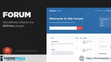 Forum – A responsive theme for bbPress plugin [Updated Version]