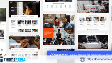 Coursector – LMS Education WordPress [Free download]