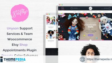 Craftly – Hobby and Crafts WordPress Theme [Updated Version]