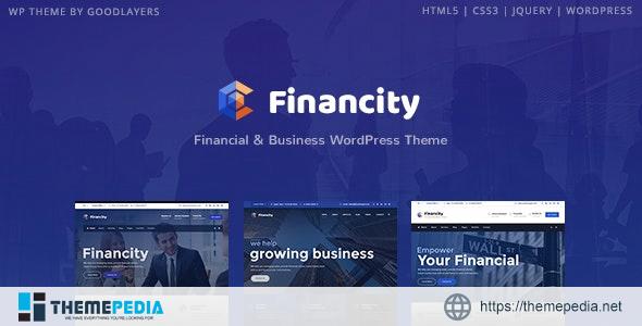 Financity – Business – Financial – Finance WordPress [Free download]