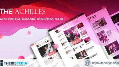 Achilles – Multipurpose Magazine & Blog WordPress Theme [Free download]