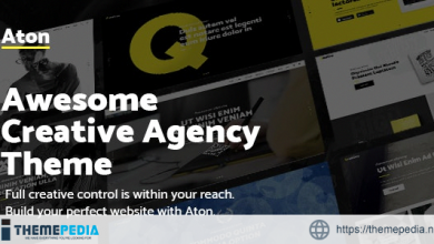 Aton – Modern Creative Design Agency Theme [Updated Version]
