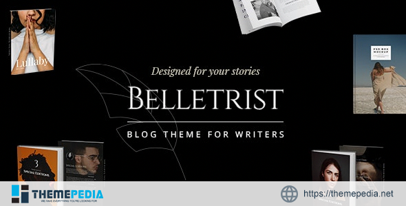 Belletrist – Blog Theme for Writers [Free download]