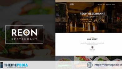 Reon – Restaurant WordPress Theme [nulled]