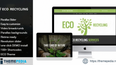 Eco Recycling – Ecology & Nature WordPress Theme [Free download]