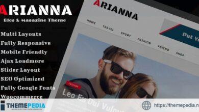 Arianna – Clean & Simple Blog-Magazine Theme [Free download]