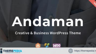Andaman – Creative & Business WordPress Theme [Free download]