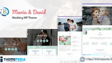 Bride – Wedding WordPress Theme [Free download]