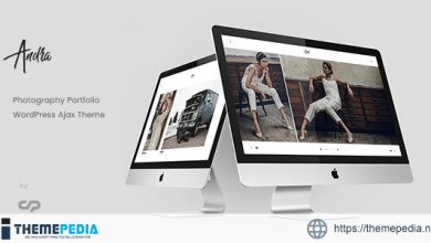 Andra – Photography Portfolio WordPress Ajax Theme [Updated Version]