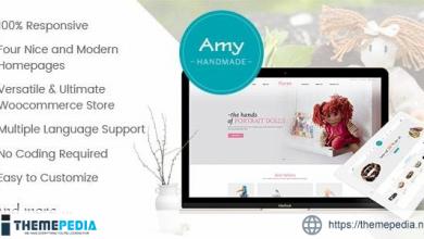 Amy Handmade – Blog and Shop WordPress Theme [Free download]