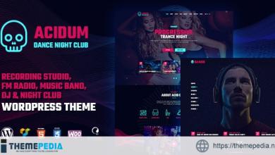 Acidum – Night Club and DJ WordPress Theme [Updated Version]