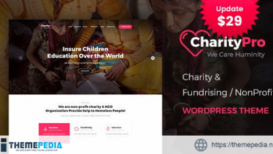 Charity Pro – Fundraising WordPress Theme [nulled]