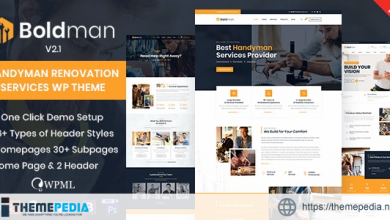 Boldman – Handyman Renovation Services WordPress Theme [nulled]