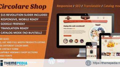 Circolare – Multi-Use WooCommerce Theme [Free download]