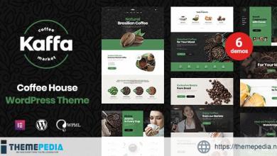Kaffa – Cafe & Coffee Shop WordPress Theme [Free download]
