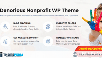 Denorious – Nonprofit and Political Fund Raising WP Theme [Free download]
