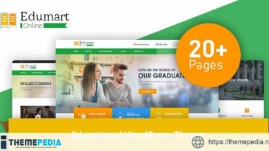 Edumart – Education WordPress Theme [Free download]