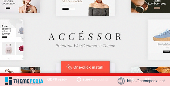 Accessories Shop – Online Store, WooCommerce & Shopping WordPress Theme [Free download]