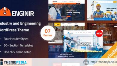 Enginir – Industrial & Engineering Multipurpose WordPress Theme [Latest Version]