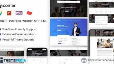 Comen – Multi-purpose Business WordPress Theme [Free download]