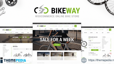 Bikeway – Sport Shop WooCommerce Theme [Free download]