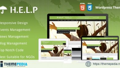 HELP – NGO Wordpress Theme [Free download]