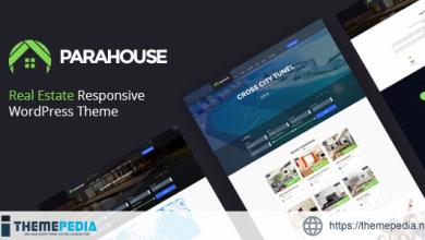 Parahouse – Real Estate WordPress Theme Responsive [Free download]