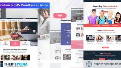 Bookflare – A Modern Education & LMS WordPress Theme [Free download]