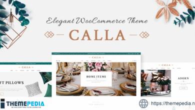 Calla – Elegant Home Decoration Shop [Free download]