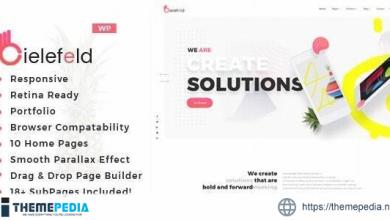 Bielefeld – Multipurpose Creative Portfolio WordPress Theme [Free download]